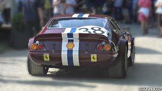 1969 Ferrari 365 GTB/4 NART Daytona V12 Engine Start Up  Warm Up!