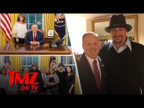 Sarah Palin, Ted Nugent, And Kid Rock Go To The White House!   TMZ TV