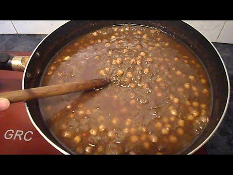 Lahori Chikar Cholay Recipe Pakistan  Lahori香辣鹰嘴豆配方 - UCZlmYFldjQT1KoCpuX5ppLA