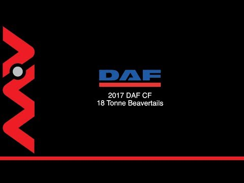 MV Commercial   DAF CF Beavertails