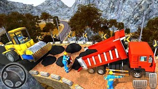 Road Building - Indian Builder Uphill Highway Construction Simulation - Android GamePlay