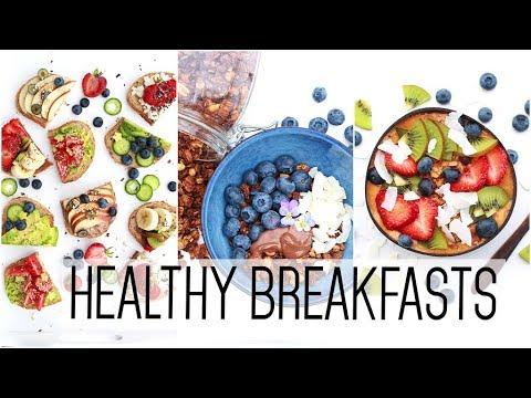 Healthy & Easy BREAKFAST Ideas!!