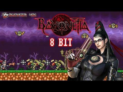 Bayonetta 8 bit (2017)(PC)   Juegos Gratis y Free to Play   Gameplay   Retro