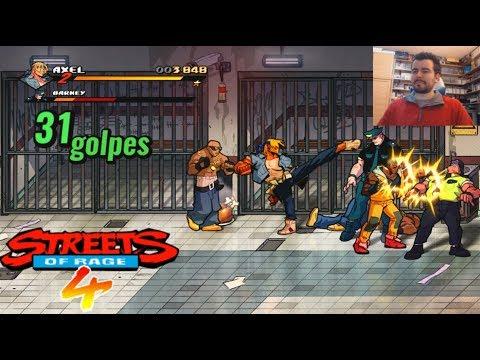 STREETS OF RAGE 4 (PS4/XOne/PC/Switch) - Primer contacto con la chusma    GAMEPLAY en Español