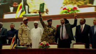 Celebrations after generals, protest leaders reach power-sharing deal in Sudan