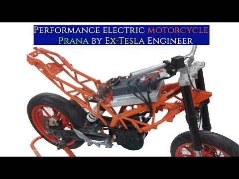 Srivaru Motors will launch e-bikes in India soon! one of them will be the Prana e-bike