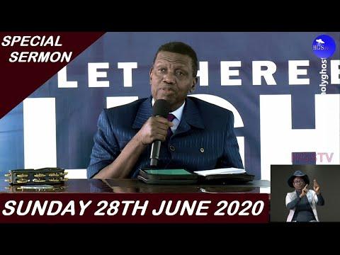 PASTOR E.A ADEBOYE SERMON - 28/06/2020 SPECIAL SUNDAY SERVICE