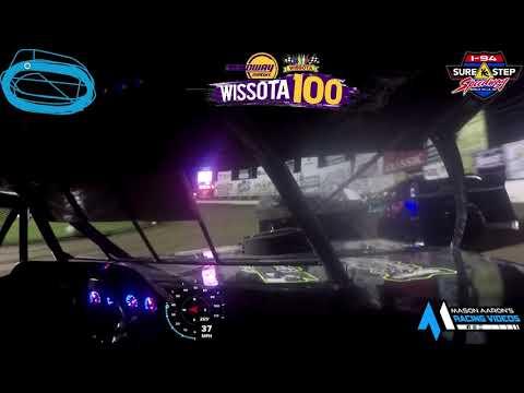 #24S Mike Stearns WISSOTA Modified On-Board @ WISSOTA 100 (9/18/21) - dirt track racing video image