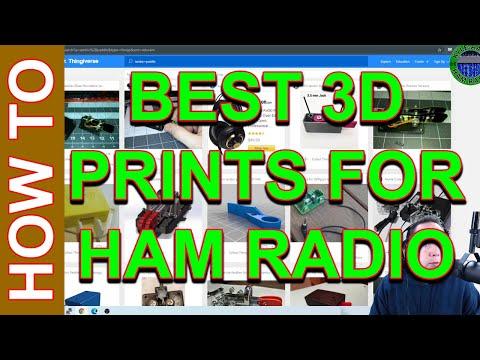 3D Printing for Ham Radio - The Best 3D Prints for Ham Radio