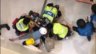 Police, protesters clash in latest Hong Kong anti-extradition march
