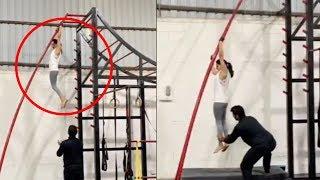 Actress Samantha Gym Workouts Latest Video | Superb | Manastars