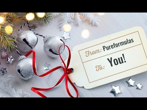 Happy Holidays From PureFormulas