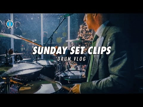 Drum Vlog // Sunday Set Clips