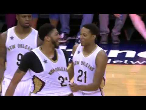 Anthony Davis Scores 41 Points and Grabs 16 Rebounds Against Lakers | 11.29.16