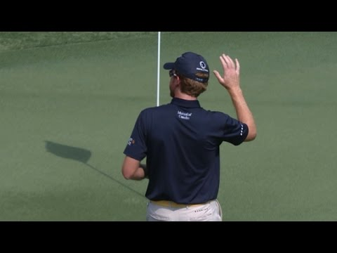 Roberto Castro's perfectly executed-flop shot at the TOUR Championship