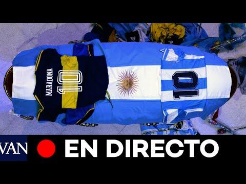 DIRECTO: El adiós a Diego Armando Maradona