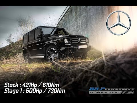 Mercedes G500 V8 Stage 1 Remap By BR-Performance