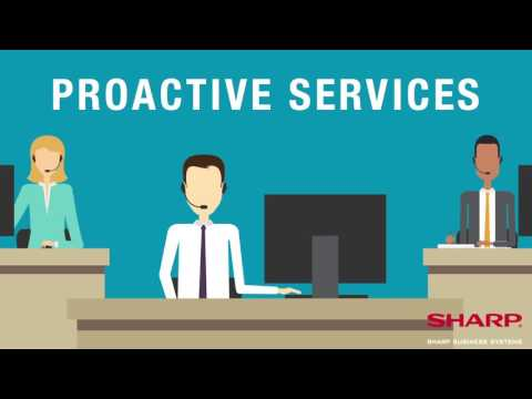 IT Help Desk Proactive Services from Sharp