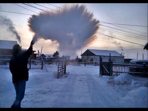 -56°C (-69°F) from Yakutsk to Oymyakon in winter - THE MOVIE [HD] 2015 - default
