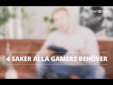NetOnNet Klubbhyllan: Fyra måsten i ditt första gaming-kit