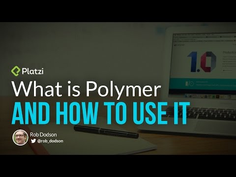 What is Polymer and How to Use It - Rob Dobson at Polymer Day - UCbFHTK1UnXMHp0sUv00A0jA