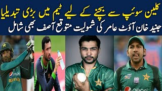 Pakistan Team Playing 11 for 5th ODI against england 2019 || Amir Back in 5th ODI