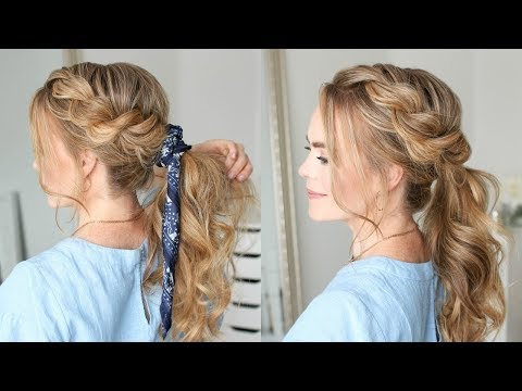 Twist Braid Ponytail | Missy Sue