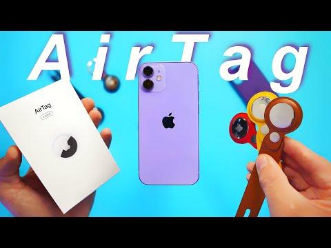 Nuovo iPhone 12 Viola + Apple AirTag Unb …