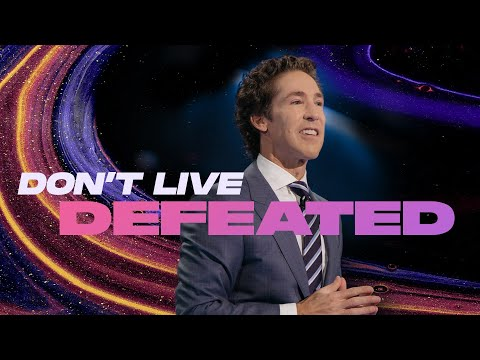 Dont't Live With A Defeated Mindset (Inspiration)