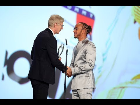 Lewis Wins the Laureus World Sportsman of the Year Award