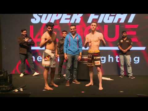 Delhi Heroes v/s Sher-E-Punjab weigh ins | Super Fight League