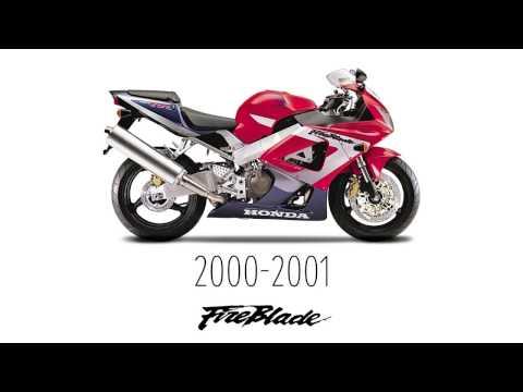 25 años de historia de la Honda CBR Fireblade