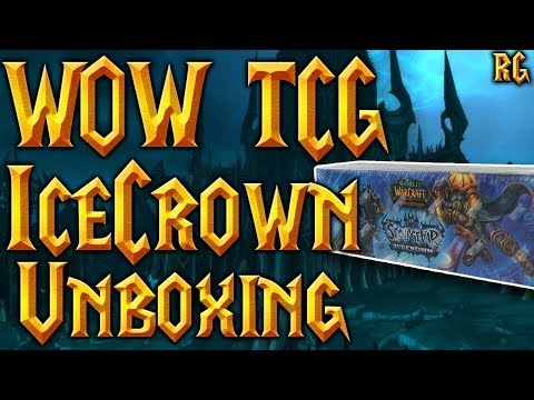 Unboxing Sourge War Icecrown Epic Box - MOUNT DROP! - World of Warcraft TCG - UC2xQGUXG51xzg5uzVL5DgYQ