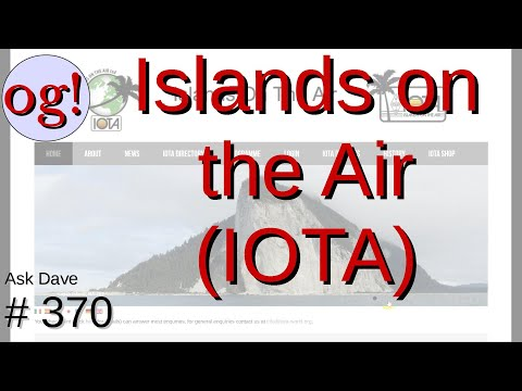 Islands on the Air (IOTA), Another Operating Activity (#370)