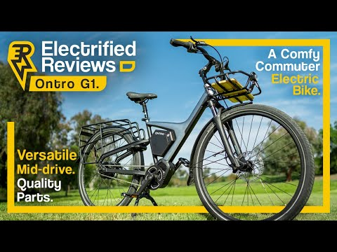 Ontro G1 Review: ,699 QUALITY CITY COMMUTER electric bike with TONS of upgrade options