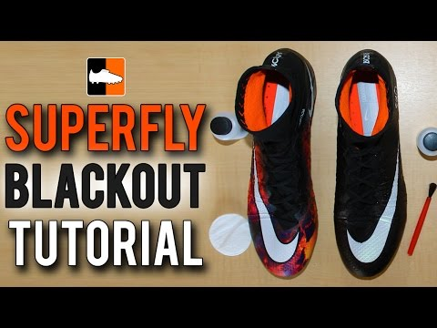 733b570c328e How to Black-Out Your Superfly Nike CR7 Mercurial Football Boots & Soccer  Cleats