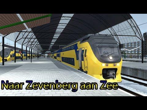 Met de Virm naar Zevenberg aan Zee  Train Simulator 2018