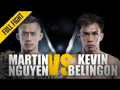 ONE: Full Fight | Martin Nguyen vs. Kevin Belingon | Battle For The Belt | July 2018 - UCiormkBf3jm6mfb7k0yPbKA