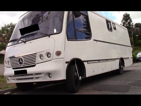 Motorhome Mercedes 814 - 6 marchas - inter cooler - reformado