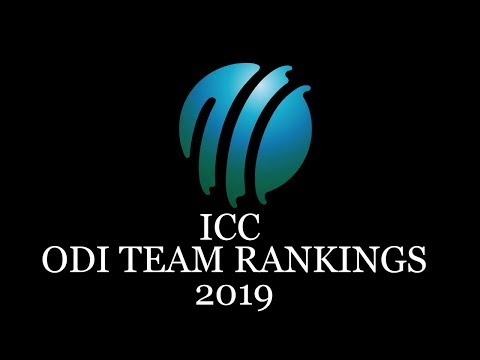 ICC ODI Team Rankings, 2019