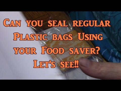 Using Regular Bags With Your Vacuum Sealer? - UCcZzXUnMdRnmYqLK-y4D_Pg