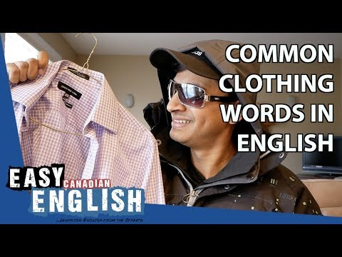 Common Clothing Words in English | Super Easy English 20 photo