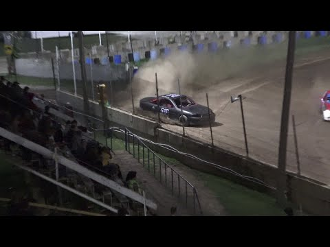 Flinn Stock A-Feature at Crystal Motor Speedway, Michigan on 07-10-2021!! - dirt track racing video image
