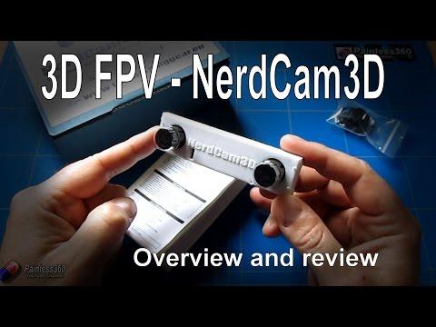 RC Reviews: NerdCam V2.0 3D FPV camera (from getfpv.com) - UCp1vASX-fg959vRc1xowqpw