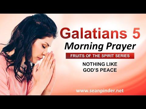 Nothing Like Gods PEACE - Morning Prayer