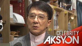 Jackie Chan, sumuporta sa Hong Kong police