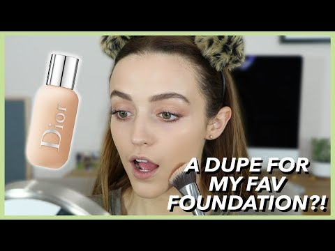 DIOR FACE + BODY FOUNDATION | First Impressions- Wear Test