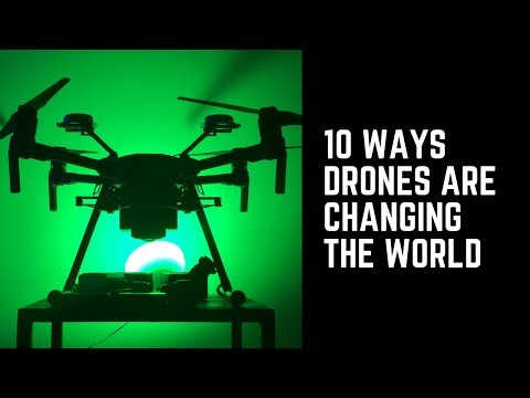 Top 10 Ways Drones Are Changing the World - UCXSkD7akcQ8l4hOY3xN3Lag