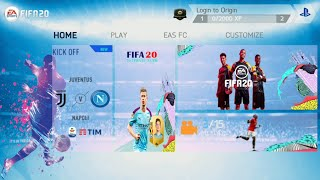 [510 MB] FIFA 14 Mod FIFA 20 Android Offline New Faces, Transfer Best Graphic #fifa19android