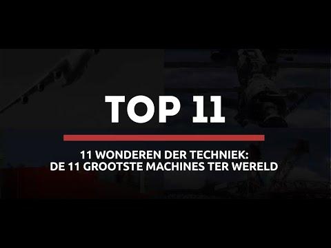 De 11 grootste machines ter wereld - Surplex GmbH